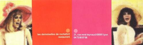 Restaurant à Lyon 1er Les demoiselles de Rochefort