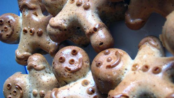 Des petits bonhommes en pain d'épices