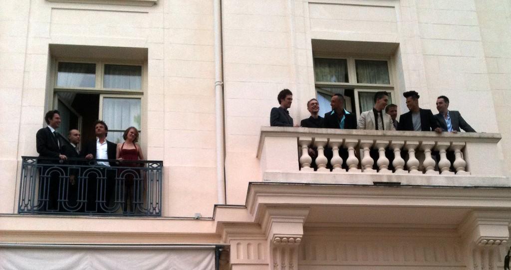 Les candidats Top Chef saison 2010  aux fenêtres du prestigieux Trianon Palace