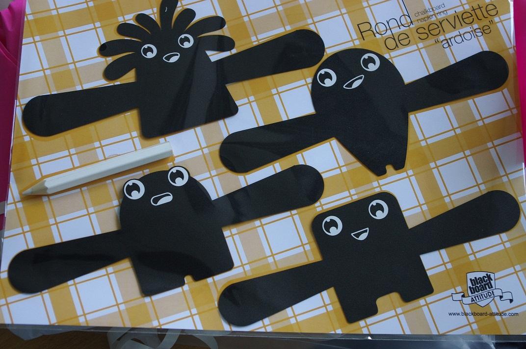 Recettes de cuisine des ronds de serviette ardoise quileutcuit - Les ronds de serviette ...