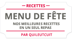 Menu de fte