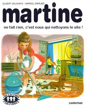 Recettes de cuisine martine ne fait rien en fait - Martine fait la cuisine ...