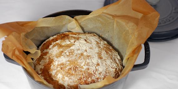 Le pain cocotte : le pain maison qui croustille !