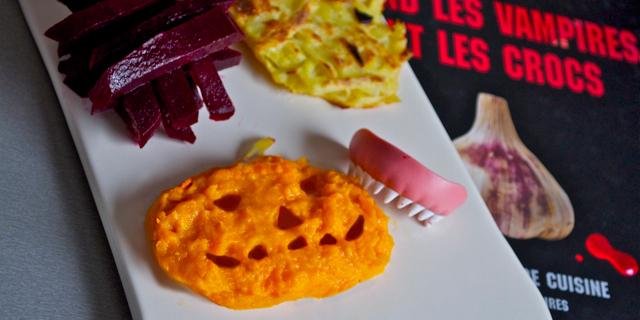 Comment faire manger des légumes aux enfants, acte 4 : profitons d'Halloween…
