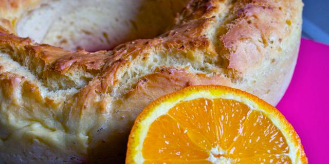 Brioche à l'orange façon Pogne