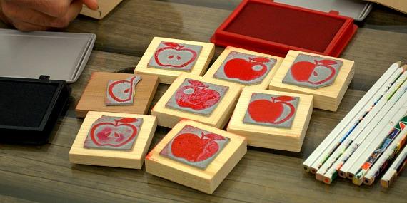 recettes de cuisine tampon pommes quileutcuit. Black Bedroom Furniture Sets. Home Design Ideas
