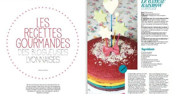 Le jour où j'ai fait un spacecake pour enfant : mon 1er rainbowcake