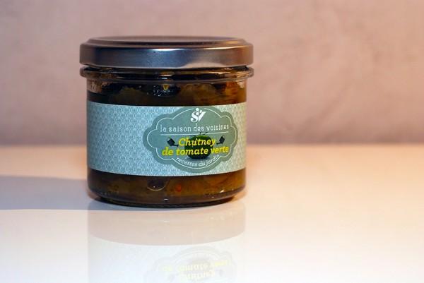 Chutney de tomate verte - Quileutcuit