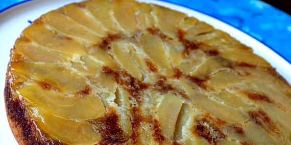 La renverse de pommes et son caramel au beurre salé
