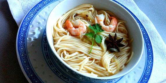 Soupe à la thaïe  (une soupe d'après les fêtes)