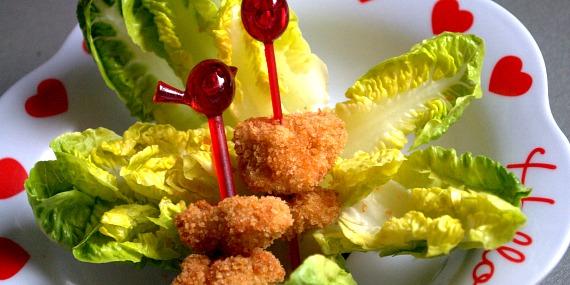 Comment faire manger des légumes aux enfants : la mini salade césar