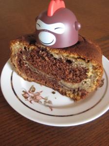 gâteau marbré Banane Chocolat