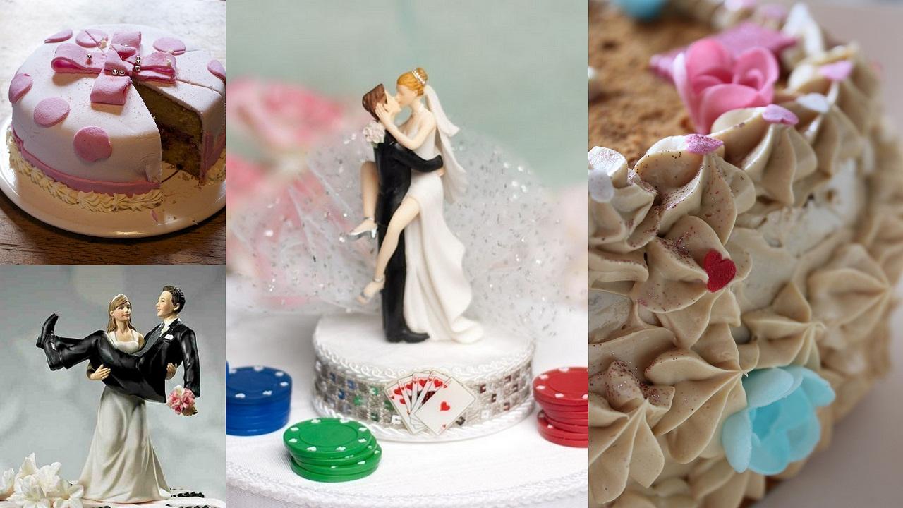 gateau de mariage et figurines