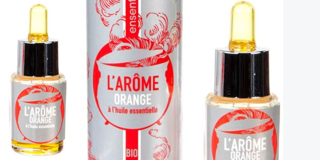 Quileutcuit a testé l'arôme biologique orange