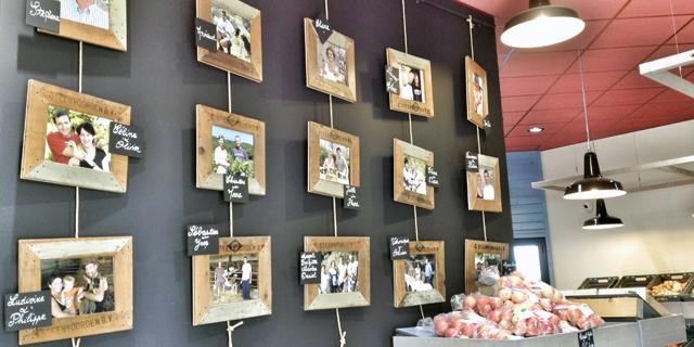 Cœur de ferme : Magasin de producteurs à Lucenay