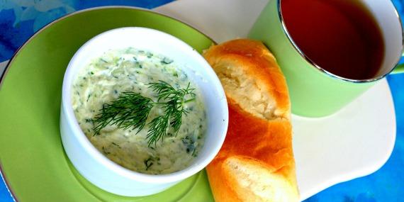 cream cheese carré frais concombre