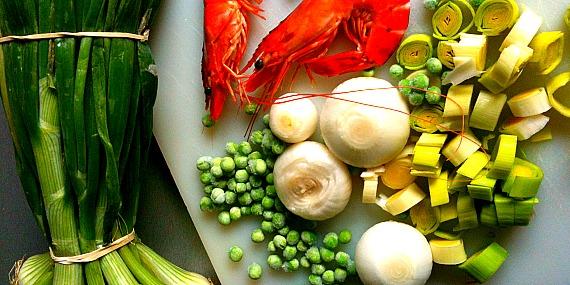 Légumes de Printemps façon Nasi Goreng